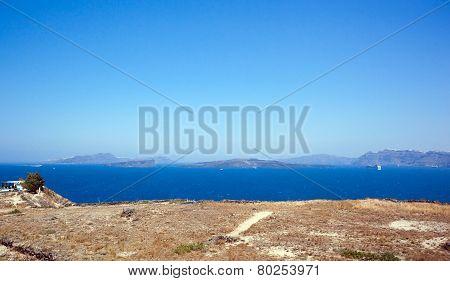 The Santorini Island Volcano Greece
