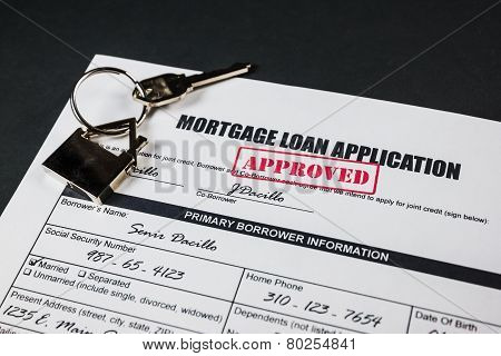 Mortgage Loan Application Approved 002