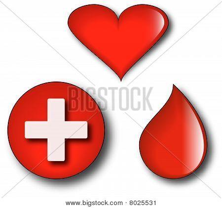 Blood donation kit