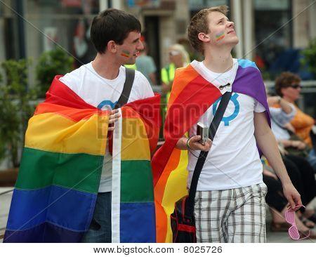 Queer parade brno
