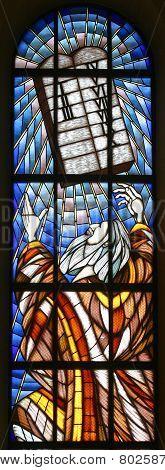 Moses and Ten Commandments