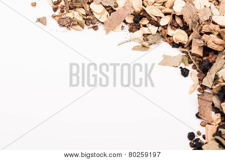 Chinese Traditional Herbs.