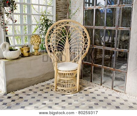 Luxury Rattan Chair