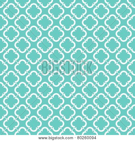 blue retro seamless pattern background