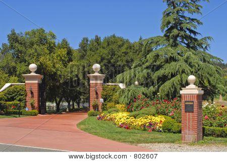 Estate Entrance