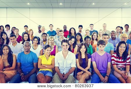 Diversity Teenager Team Seminar Training Education Concept