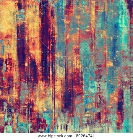 Grunge texture. With different color patterns: purple (violet); yellow (beige); blue; cyan; pink