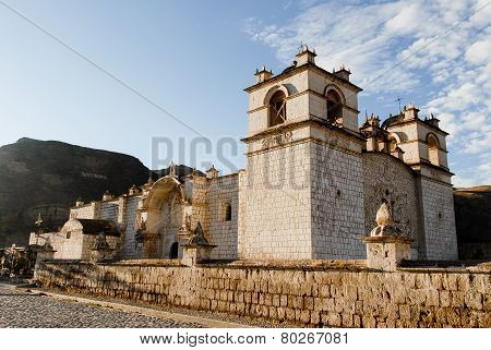 Immaculate Conception Church - Yanque, Peru