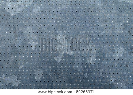 Galvanized metal texture