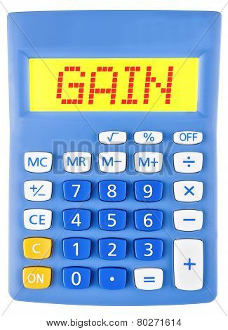 Calculator With Gain