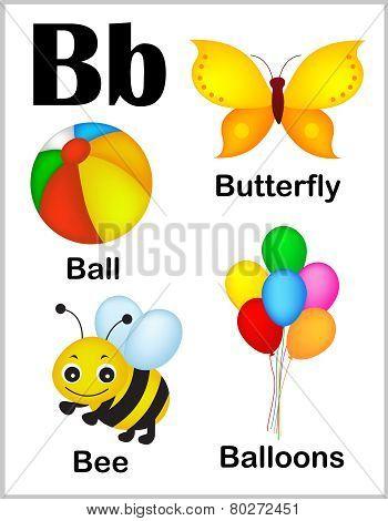 Alphabet Letter B Pictures