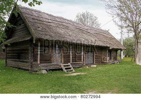 Yard With Wooden House