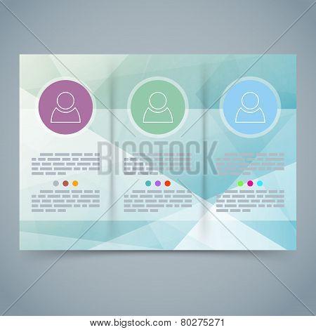 Tri-fold Modern Brochure Booklet Template