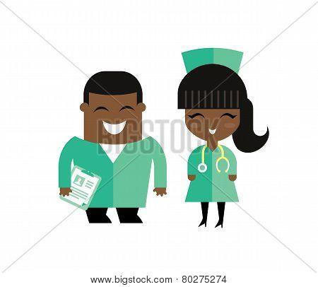 doctors illustration