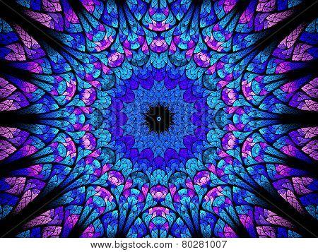 Oriental Kaleidoscope Fractal