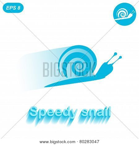 Speedy Snail - Concept Of Success Achievement