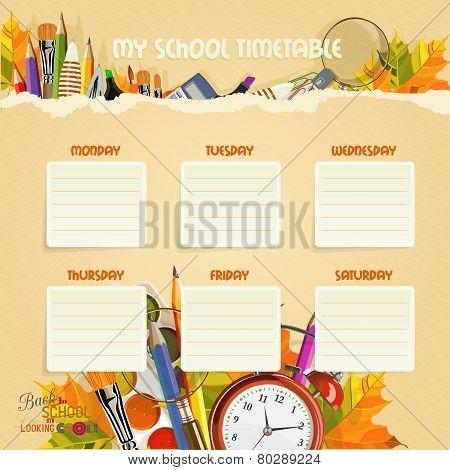 School Timetable.