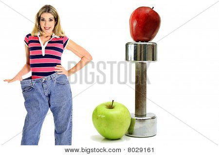 Weight Loss Workout Apples In Jeans