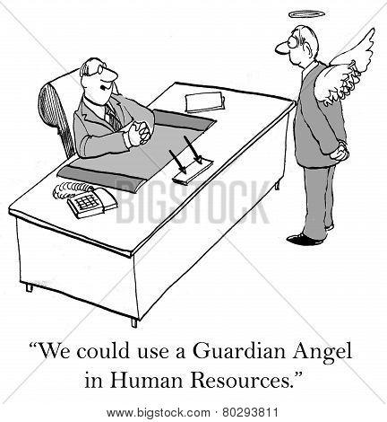 Guardian Angel in HR