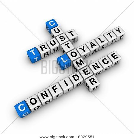 Costomer Loyalty Crossword
