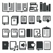 stock photo of differences  - Book icons - JPG