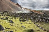 foto of underground water  - Iceland in July - JPG