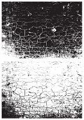 Постер, плакат: Grunge Black And White Texture Distress Texture Scratch Texture Wall Background Rubber Stamp Tex