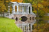 pic of tsarskoe  - Autumn landscape in Pushkin city near St - JPG
