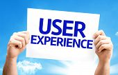 picture of experiments  - User Experience card with a beautiful day - JPG
