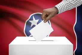 pic of segregation  - Voting concept  - JPG