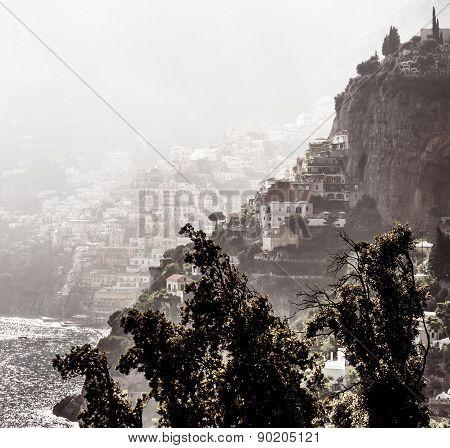 Picturesque Amalfi Coast. Campania, Italy