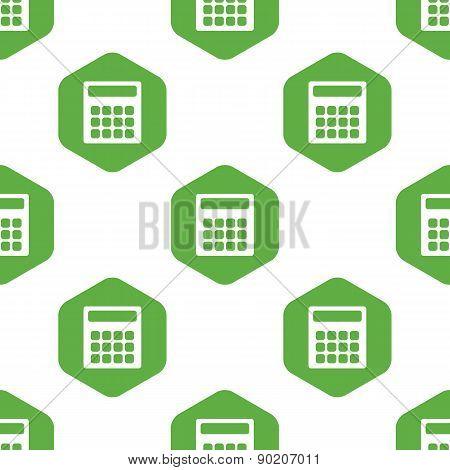 Calculator pattern