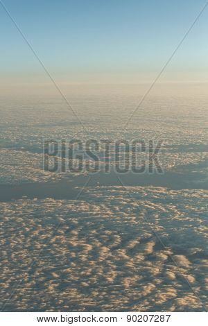 Clouds With Altitude Jet.
