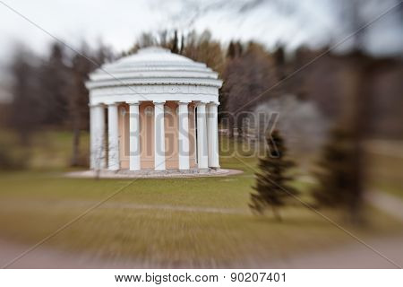Temple Of Friendship In The Park Of Pavlovsk