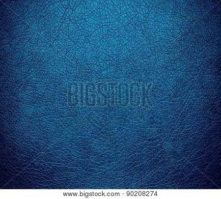 CG Blue color leather texture background