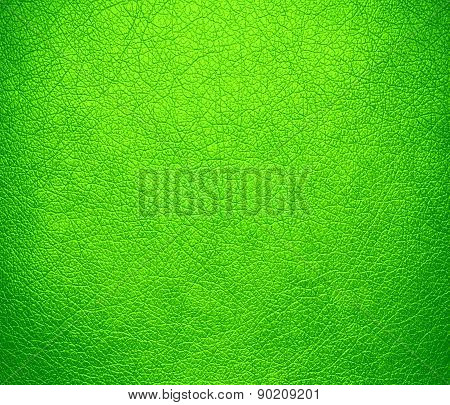 Chartreuse (web) color leather texture background