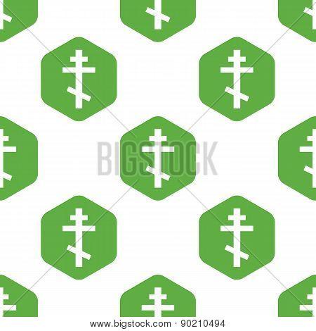 Orthodox cross pattern