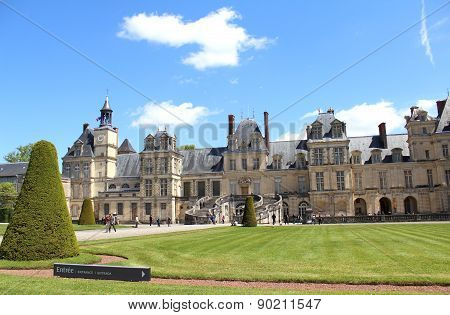 Castle Fontainebleau, France