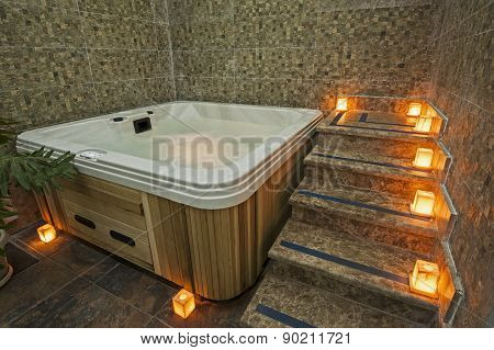 Jacuzzi In A Health Spa