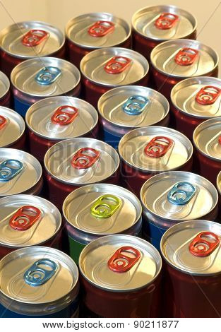 Case Of Healthy Energy Drinks