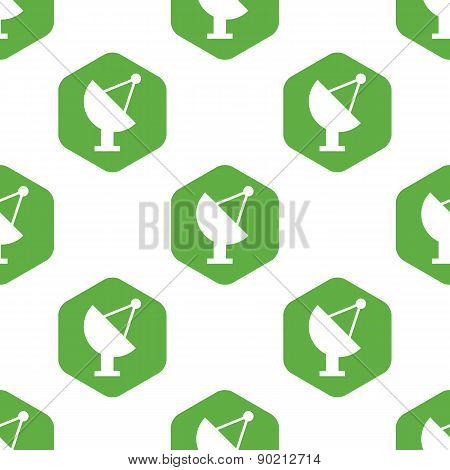 Satellite dish pattern