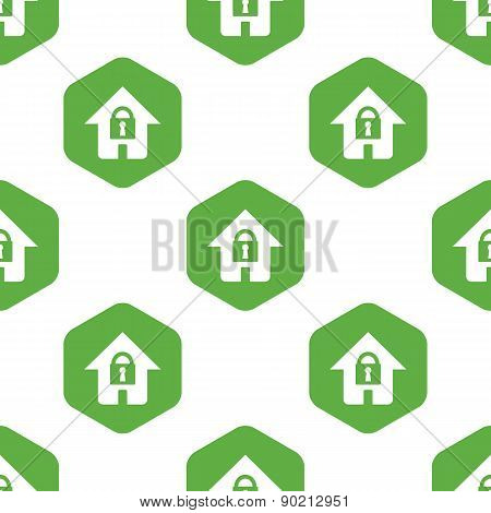 Locked house pattern