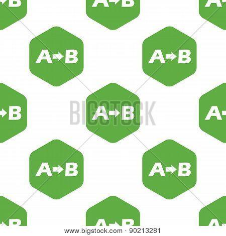 A to B pattern