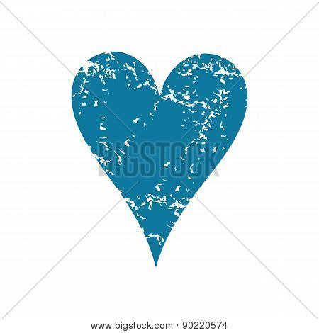 Hearts grunge icon