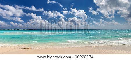 Beautiful Caribbean Sea Beach