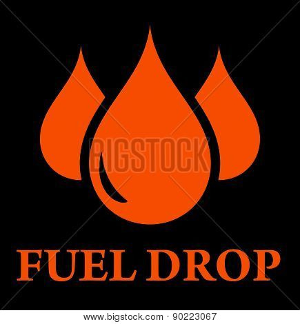 drop of fuel