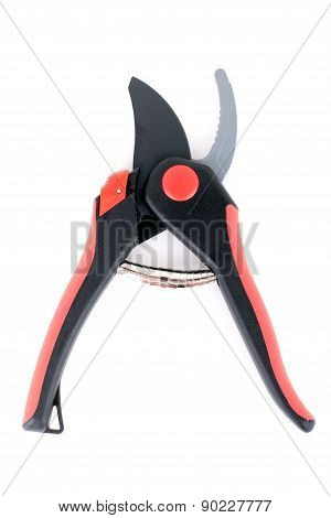 Garden Pruner Isolate On White Background