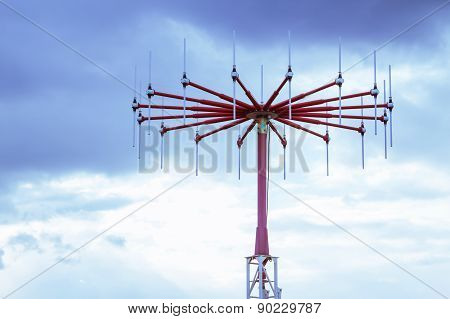 antenna in private airport