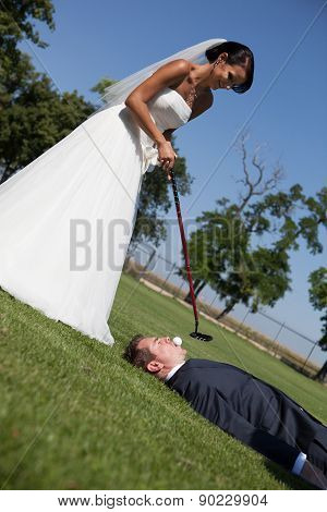 Golf And Wedding
