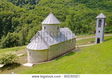 St. Michael The Archangel Monastery on Tara River, Montenegro